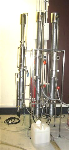 Row of continuous stills