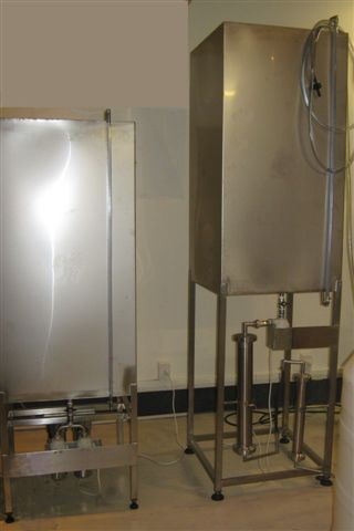 400L vodka filtration unit